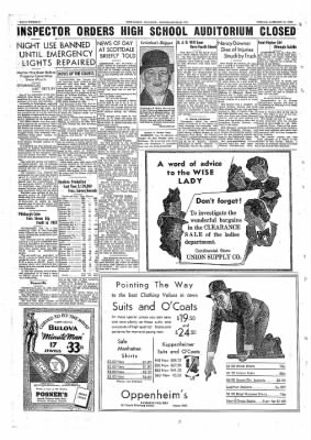 The Daily Courier from Connellsville, Pennsylvania on January 21, 1938 · Page 20