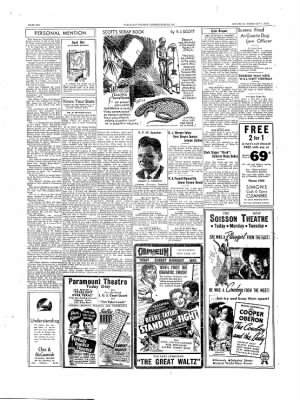 The Daily Courier from Connellsville, Pennsylvania on February 4, 1939 · Page 6