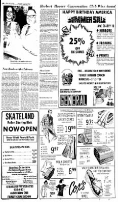 Sunday Gazette-Mail from Charleston, West Virginia on June 27, 1976 · Page 22