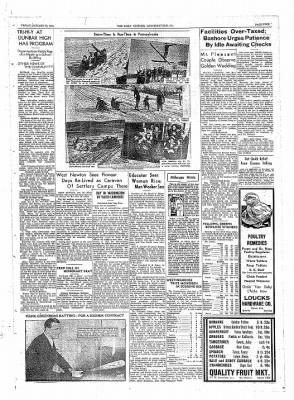 The Daily Courier from Connellsville, Pennsylvania on January 28, 1938 · Page 5