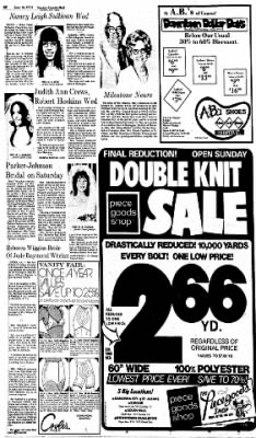 Sunday Gazette-Mail from Charleston, West Virginia on June 16, 1974 · Page 70
