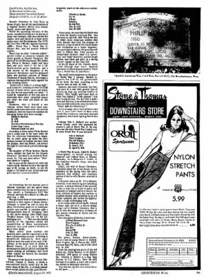 Sunday Gazette-Mail from Charleston, West Virginia on August 20, 1972 · Page 73