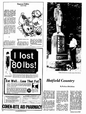 Sunday Gazette-Mail from Charleston, West Virginia on August 20, 1972 · Page 74