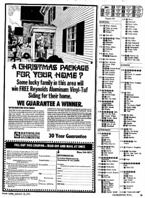 Sunday Gazette-Mail from Charleston, West Virginia on August 20, 1972 · Page 79