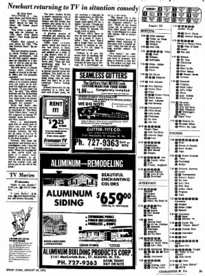 Sunday Gazette-Mail from Charleston, West Virginia on August 20, 1972 · Page 81