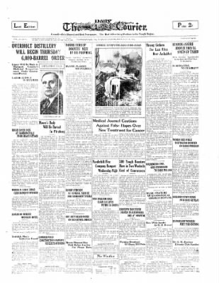 The Daily Courier from Connellsville, Pennsylvania on February 18, 1930 · Page 1