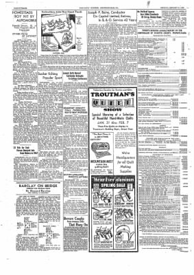 The Daily Courier from Connellsville, Pennsylvania on January 31, 1938 · Page 12