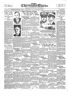 The Daily Courier from Connellsville, Pennsylvania on February 4, 1938 · Page 1
