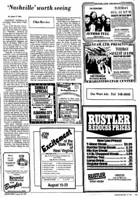 Sunday Gazette-Mail from Charleston, West Virginia on August 10, 1975 · Page 87