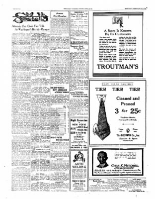 The Daily Courier from Connellsville, Pennsylvania on February 22, 1930 · Page 2