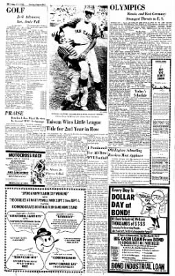 Sunday Gazette-Mail from Charleston, West Virginia on August 27, 1972 · Page 30