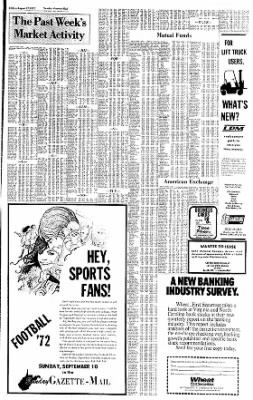 Sunday Gazette-Mail from Charleston, West Virginia on August 27, 1972 · Page 39