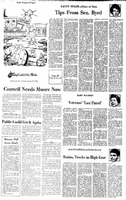 Sunday Gazette-Mail from Charleston, West Virginia on August 27, 1972 · Page 42