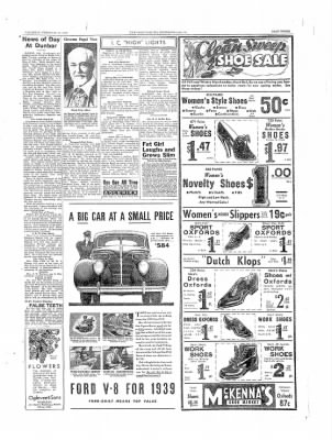 The Daily Courier from Connellsville, Pennsylvania on February 23, 1939 · Page 3