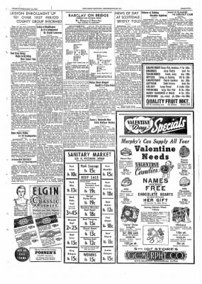 The Daily Courier from Connellsville, Pennsylvania on February 11, 1938 · Page 5