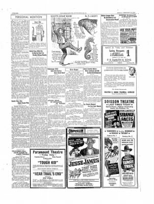 The Daily Courier from Connellsville, Pennsylvania on February 24, 1939 · Page 6