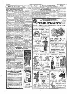 The Daily Courier from Connellsville, Pennsylvania on February 11, 1938 · Page 8