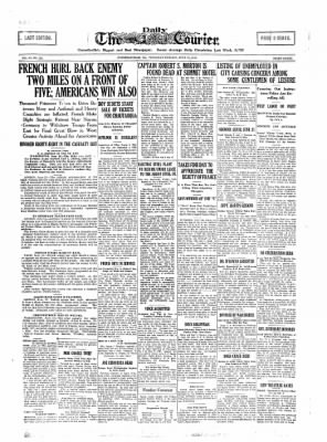 The Daily Courier from Connellsville, Pennsylvania on June 13, 1918 · Page 1