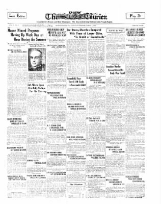 The Daily Courier from Connellsville, Pennsylvania on March 1, 1930 · Page 1