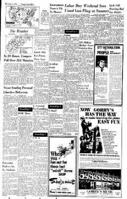 Sunday Gazette-Mail from Charleston, West Virginia on September 3, 1972 · Page 2