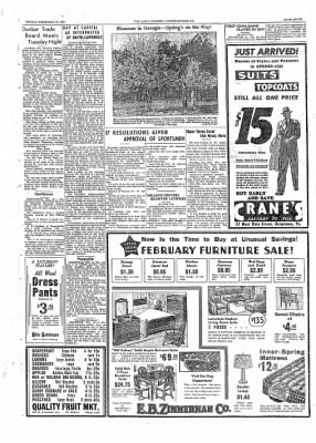 The Daily Courier from Connellsville, Pennsylvania on February 18, 1938 · Page 7