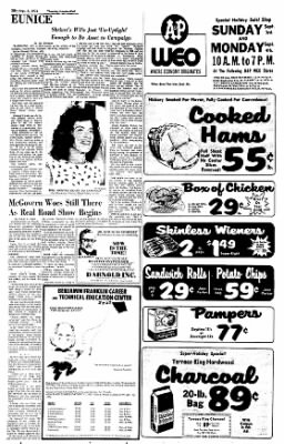Sunday Gazette-Mail from Charleston, West Virginia on September 3, 1972 · Page 12