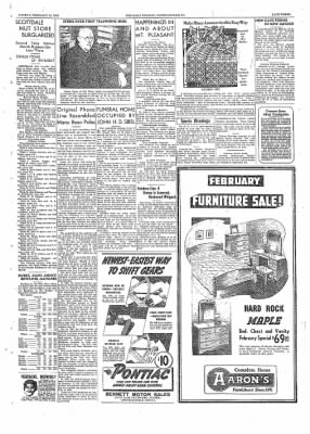 The Daily Courier from Connellsville, Pennsylvania on February 21, 1938 · Page 3