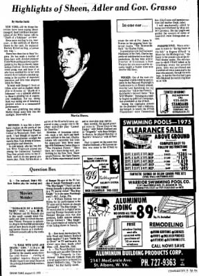 Sunday Gazette-Mail from Charleston, West Virginia on August 17, 1975 · Page 89