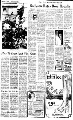 Sunday Gazette-Mail from Charleston, West Virginia on September 3, 1972 · Page 45