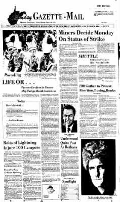 Sunday Gazette-Mail from Charleston, West Virginia on August 24, 1975 · Page 1