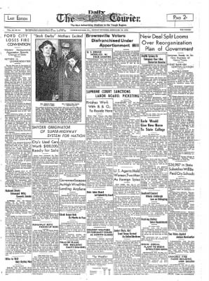 The Daily Courier from Connellsville, Pennsylvania on February 28, 1938 · Page 1