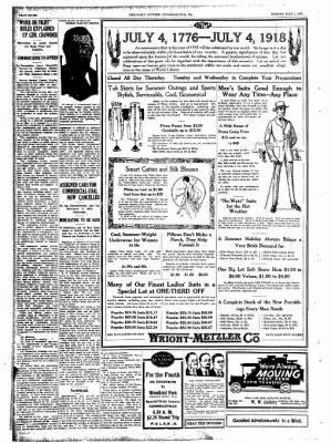 The Daily Courier from Connellsville, Pennsylvania on July 1, 1918 · Page 8