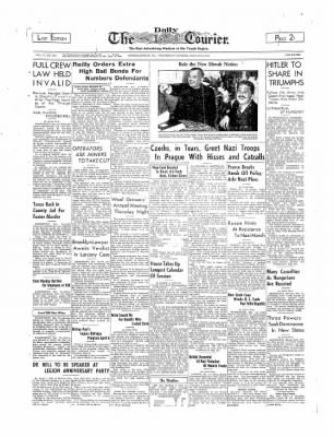 The Daily Courier from Connellsville, Pennsylvania on March 15, 1939 · Page 1