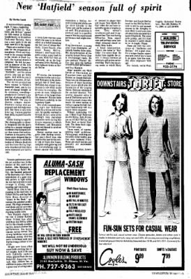 Sunday Gazette-Mail from Charleston, West Virginia on June 30, 1974 · Page 82