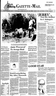Sunday Gazette-Mail from Charleston, West Virginia on July 18, 1976 · Page 1