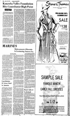 Sunday Gazette-Mail from Charleston, West Virginia on July 18, 1976 · Page 2
