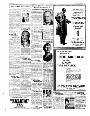 The Daily Courier from Connellsville, Pennsylvania on March 11, 1930 · Page 6