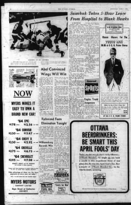 The Ottawa Journal from Ottawa,  on April 1, 1964 · Page 18