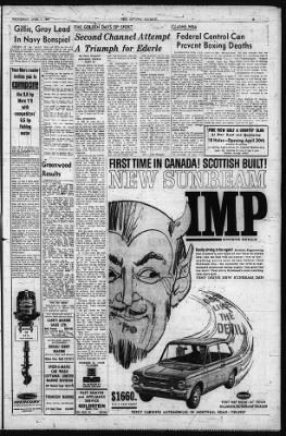 The Ottawa Journal from Ottawa,  on April 1, 1964 · Page 21