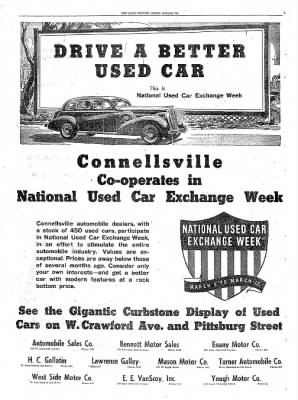 The Daily Courier from Connellsville, Pennsylvania on March 7, 1938 · Page 10