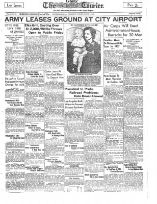 The Daily Courier from Connellsville, Pennsylvania on March 9, 1938 · Page 1