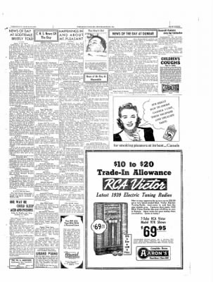 The Daily Courier from Connellsville, Pennsylvania on March 22, 1939 · Page 3