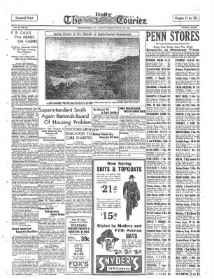 The Daily Courier from Connellsville, Pennsylvania on March 11, 1938 · Page 11