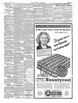 The Daily Courier from Connellsville, Pennsylvania on March 14, 1938 · Page 3