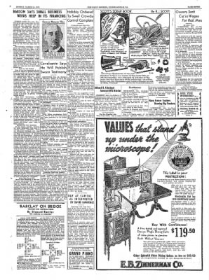 The Daily Courier from Connellsville, Pennsylvania on March 14, 1938 · Page 7