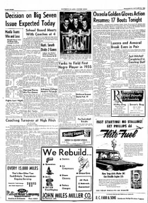 The Courier News from Blytheville, Arkansas on January 19, 1955 · Page 8