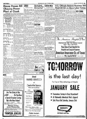 The Courier News from Blytheville, Arkansas on January 21, 1955 · Page 12