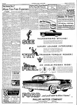The Courier News from Blytheville, Arkansas on January 25, 1955 · Page 2