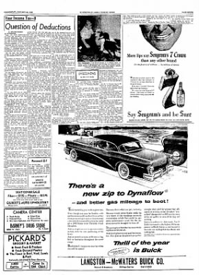 The Courier News from Blytheville, Arkansas on January 26, 1955 · Page 7