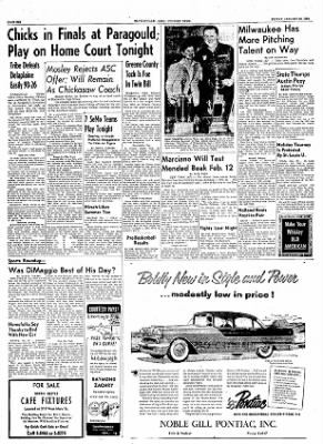 The Courier News from Blytheville, Arkansas on January 28, 1955 · Page 6